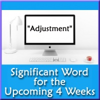 4 Week Forecast - Your Significant Word (By Email)