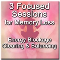 3 Focused Sessions for Memory Loss - Distance Energy Blockage Clearing & Balancing for People