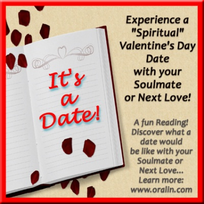 Experience a Spiritual Valentine's Day Date with your Soulmate or Next Love!