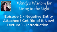 Episode 2 - Take the Test to See If a Negative Entity is Attached to You
