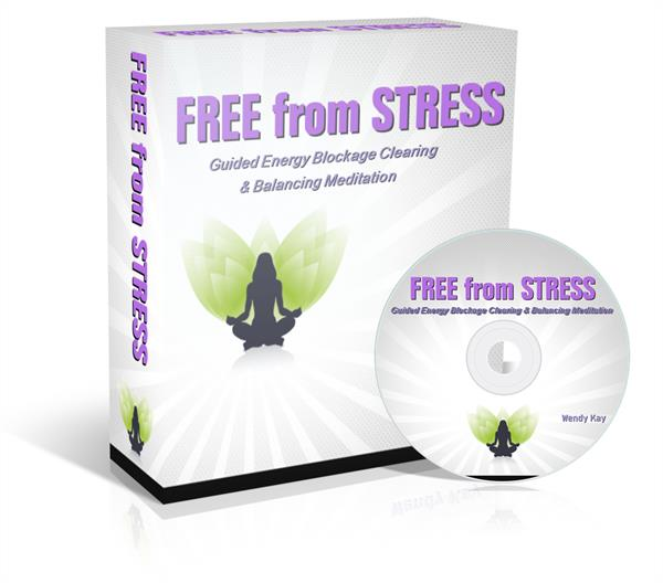 Free from Stress Guided Energy Blockage Clearing and Balancing Meditation Session