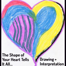 The Shape of Your Heart Drawing plus Interpretaton